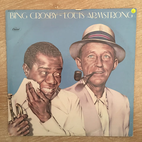 Bing Crosby ~ Louis Armstrong ‎– Bing Crosby ~ Louis Armstrong - Vinyl LP  Record - Opened  - Very-Good+ Quality (VG+)