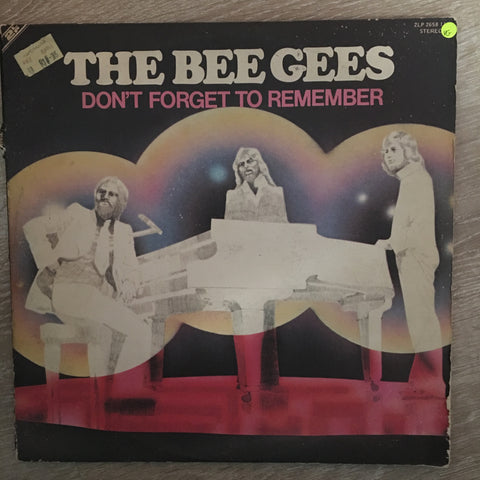 Bee Gees - Don't Forget to Remember - Double Vinyl LP Record - Opened  - Very-Good Quality (VG)
