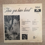 These You Have Loved Festival - Vinyl LP  Record - Opened  - Very-Good+ Quality (VG+) - C-Plan Audio