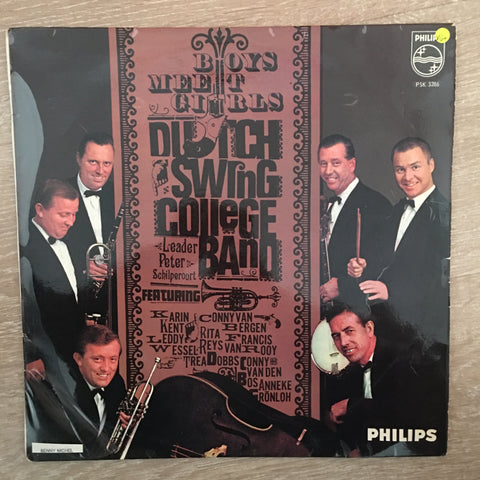 Dutch Swing College Band ‎– Boys Meet Girls - Vinyl LP  Record - Opened  - Very-Good+ Quality (VG+)