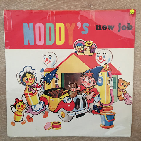 Kathleen Davydd, Enid Blyton ‎– Noddy's New Job - Vinyl LP  Record - Opened  - Very-Good+ Quality (VG+) - C-Plan Audio