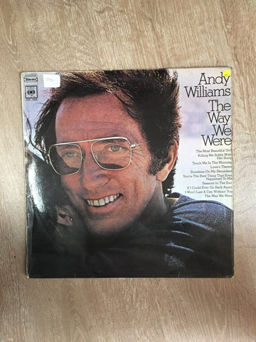 Andy Williams - The Way We Were - Vinyl LP Record - Opened  - Very-Good Quality (VG)