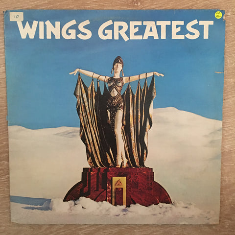 Wings - Greatest - Vinyl LP  Record - Opened  - Very-Good+ Quality (VG+)