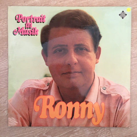 Ronny - Portrait in Musik - Vinyl LP  Record - Opened  - Very-Good+ Quality (VG+) - C-Plan Audio