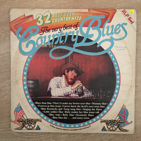 The Very Best Of Country Blues - Vinyl LP Record - Opened  - Very-Good Quality (VG) - C-Plan Audio