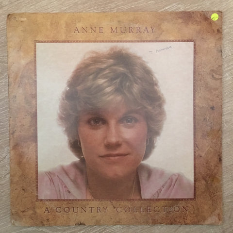 Anne Murray - A Country Collection - Vinyl LP Record - Opened  - Very-Good- Quality (VG-)