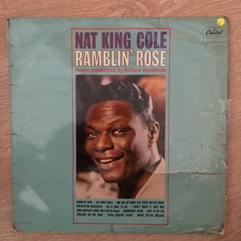 Nat King Cole - Ramblin' Rose -  Vinyl LP Record - Opened  - Good Quality (G) - C-Plan Audio
