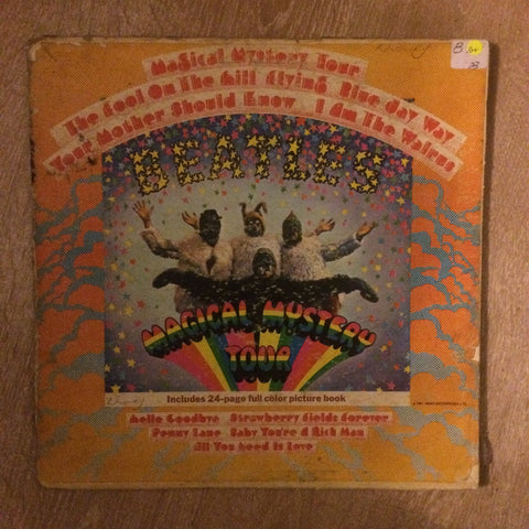 The Beatles ‎– Magical Mystery Tour -  Vinyl LP Record  - Opened  - Very-Good+ Quality (VG+) - C-Plan Audio