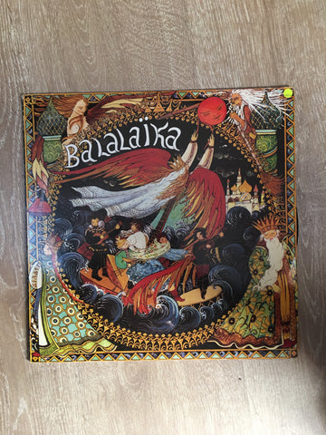 Chansons Russes - Balalaika - Vinyl LP Record - Opened  - Very-Good+ Quality (VG+) - C-Plan Audio