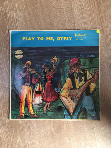 Frank Chacksfield and His Orchestra - Play to me Gypsy - Vinyl LP Record - Opened  - Good Quality (G) - C-Plan Audio