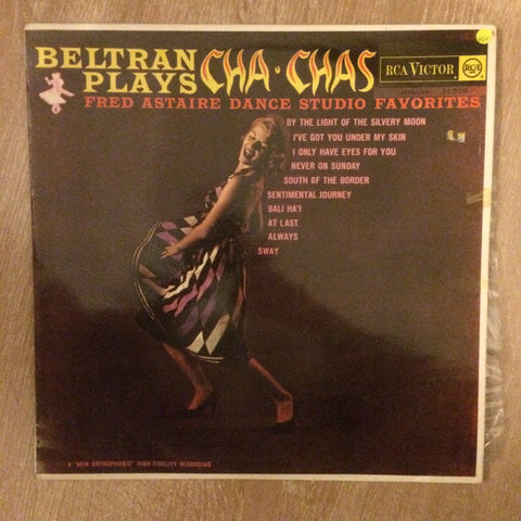 Beltran And His Orchestra ‎– Beltran Plays Cha Chas  - Vinyl LP - Opened  - Very-Good Quality (VG)