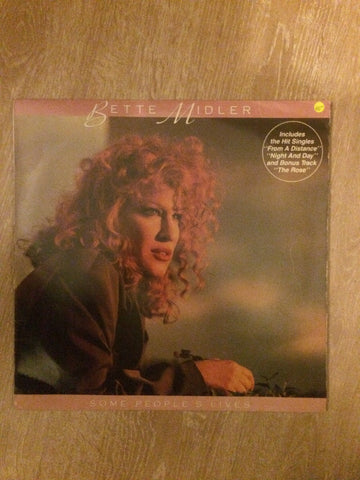 Bette Midler - Vinyl LP Record - Opened  - Very-Good- Quality (VG-)