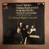 "David Oistrakh, Mstislav Rostropovich, Sviatoslav Richter, Herbert von Karajan, The Berlin Philharmonic Orchestra - Beethoven ‎– The ""Triple"" Concerto In C - Vinyl LP Record - Opened  - Very-Good+ Quality (VG+)"