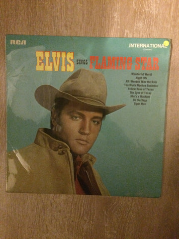 Elvis Sings Flamingo Star - Vinyl LP Record - Opened  - Good Quality (G) - C-Plan Audio