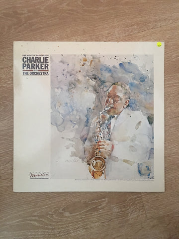 Charlie Parker With The Orchestra ‎– One Night In Washington - Vinyl LP Record - Opened  - Very-Good+ Quality (VG+)