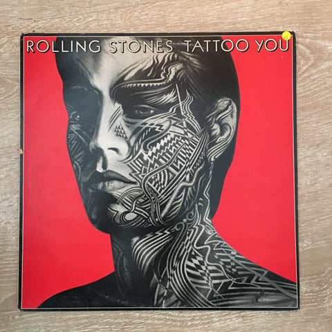 The Rolling Stones Tattoo You Vinyl Record Opened Very Good Quality Vg