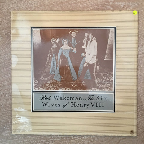 Rick Wakeman - The Six Wives of Henry VIII - Vinyl LP Record - Opened  - Good+ Quality (G+) - C-Plan Audio