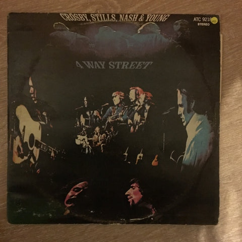 Crosby, Stills, Nash and Young - 4 Way Street - Vinyl LP Record - Opened  - Very-Good+ Quality (VG+)