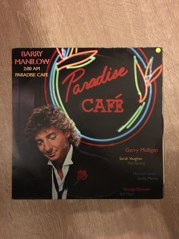 Barry Manilow - 2:00 AM Paradise Cafe  - Vinyl LP - Opened  - Very-Good+ Quality (VG+)