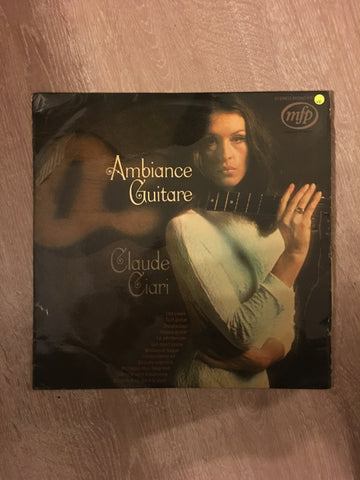Claude Ciari -Ambience Giutare - Vinyl LP - Opened  - Very-Good Quality (VG)