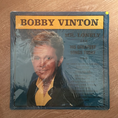 Bobby Vinton ‎– Mr. Lonely -  Vinyl LP Record - Opened  - Very-Good+ Quality (VG+) - C-Plan Audio