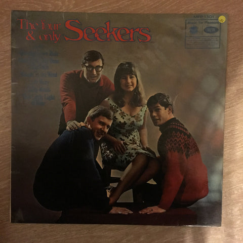 The Seekers ‎– The Four & Only Seekers - Vinyl LP Record - Opened  - Very-Good- Quality (VG-)