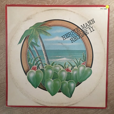 Herbie Mann - Reggae II - Vinyl LP Record - Opened  - Very-Good+ Quality (VG+)