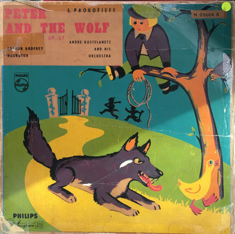 Andre Kostelanetz - Peter And The Wolf  - Vinyl LP Record - Opened  - Good Quality (G)