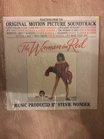 Stevie Wonder - The Woman in Red  - Vinyl LP - Opened  - Very-Good+ Quality (VG+)