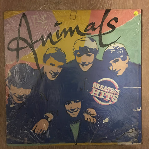 Animals - Greatest Hits - Vinyl LP Record - Opened  - Very-Good+ Quality (VG+)