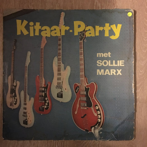 Solly Marx - Kitaar Party- Vinyl LP Record - Opened  - Good Quality (G) - C-Plan Audio