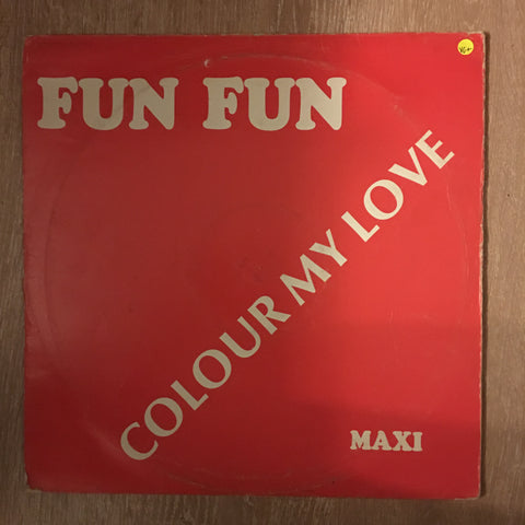 Fun Fun - Colour My Love - Vinyl Record - Opened  - Very-Good+ Quality (VG+) - C-Plan Audio
