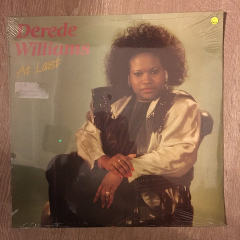 Derede Williams - At Last -  Vinyl LP - Sealed