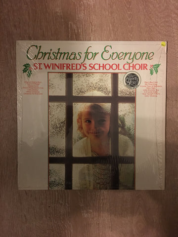 Christmas for Everyone - St Winifred's School Choir - Vinyl LP Record - Opened  - Very-Good+ Quality (VG+)
