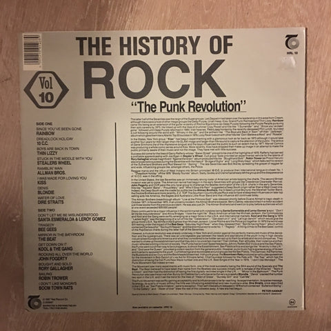 History Of Rock - Vol 10 - Vinyl Record - Opened - Very-Good+ Quality (VG+)