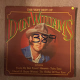 Don Williams - The Very Best Of - Vinyl Record - Opened  - Good+ Quality (G+) - C-Plan Audio