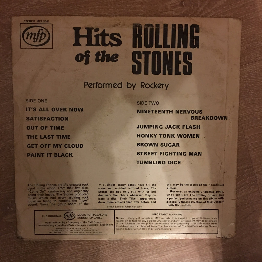 Hits Of The Rolling Stones - Vinyl LP Record - Opened - Good Quality (G)