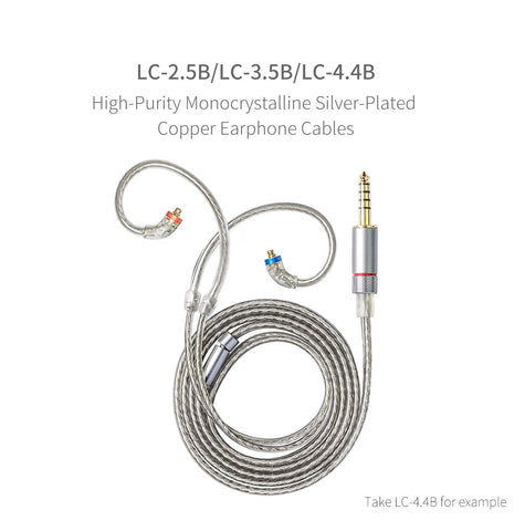 FiiO -  LC-2.5B - MMCX - 2.5mm Balanced (1.2m length)- Earphone Replacement Cable (LC-2.5B)) (Ships Next Day) FiiO - LC-2.5B - MMCX - 2.5mm Balanced - Earphone Replacement Cable (LC-2.5B)) (Ships Next Day) (C-Plan Audio Specials)