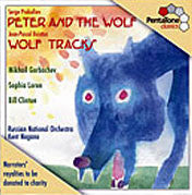 SACD -  Super-Audio CD - PTC 5186 011 PROKOFIEV - Prokofiev: Peter and the Wolf, etc. - Russian National Orchestra/Nagano - CPlan Audio