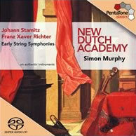 SACD -  Super-Audio CD - PTC 5186 028 STAMITZ - Stamitz/Richter: Early String Symphonies - New Dutch Academy/Murphy - CPlan Audio