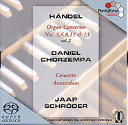 SACD -  Super-Audio CD - PTC 5186 104 HANDEL- Handel: Organ Concerto Nos. 5, 6, 8, 11 & 13 - CPlan Audio