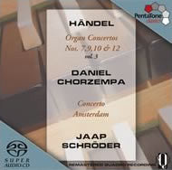 SACD -  Super-Audio CD - PTC 5186 109 HANDEL - Handel: Organ Concerto No. 7, 9, 10 & 12 - C-Plan Audio