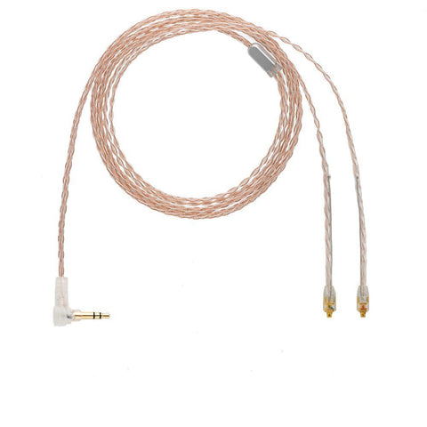 ALO Audio Reference 8 IEM MMCX Headphone Cable - Balanced 2.5mm TRRS  (Ships Next Day) - C-Plan Audio