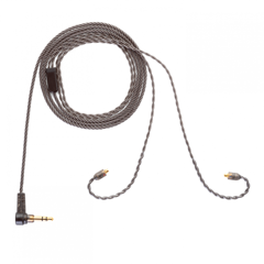 ALO  Audio IEM MMCX Balanced Smoky Litz Cable - 4.4mm Pentaconn (Ships In 2-3 Weeks) - C-Plan Audio