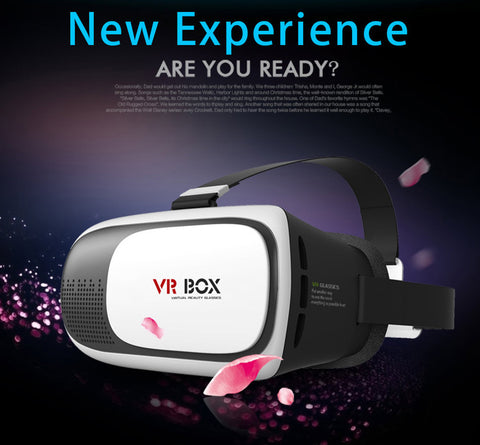 2016 Professional 3D VR Box 2.0 II 3D Glasses Virtual Reality VR Case Google Cardboard for All 3.5-6.0'' Phone Optical Lens - CPlan Audio  - 1