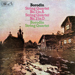 Borodin*, Borodin String Quartet ‎– String Quartets Nos. 1 & 2 - Open Vinyl LP - Near Mint Condition (NM-) - CPlan Audio