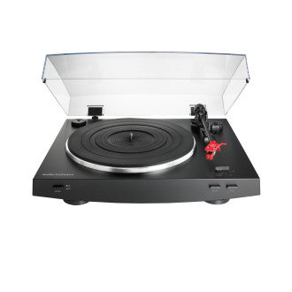 Audio Technica Audiophile AT-LP3 HiFi Turntable With Built-In Moving Coil and Moving Cartridge Phono Pre-Amps (Black) (Ships next day) (LP3)
