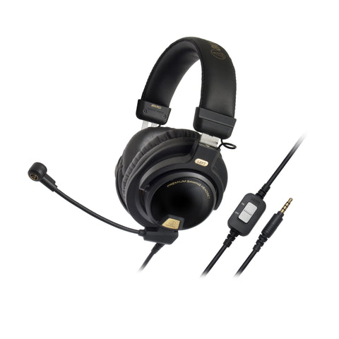 Audio Technica - ATH-PG1 - Immersive Audio - Closed-Back Headphones with Detachable Gaming Cable Set (C-Plan Audio Specials) - C-Plan Audio