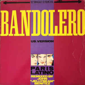 Bandolero ‎– Paris Latino - Vinyl LP - Opened  - Very-Good+ Quality (VG+)