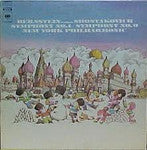 Bernstein* Conducts Shostakovich* ‎– Symphony No. 1 / Symphony No. 9 - Vinyl LP Opened - Very-Good+ (VG+) - CPlan Audio